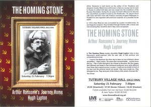 Homing Stone_Tutbury Village Hall_E-flyer